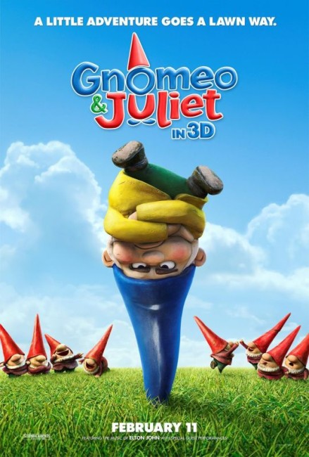 Gnomeo & Juliet (2011) poster