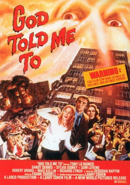 God Told Me To (1976) poster