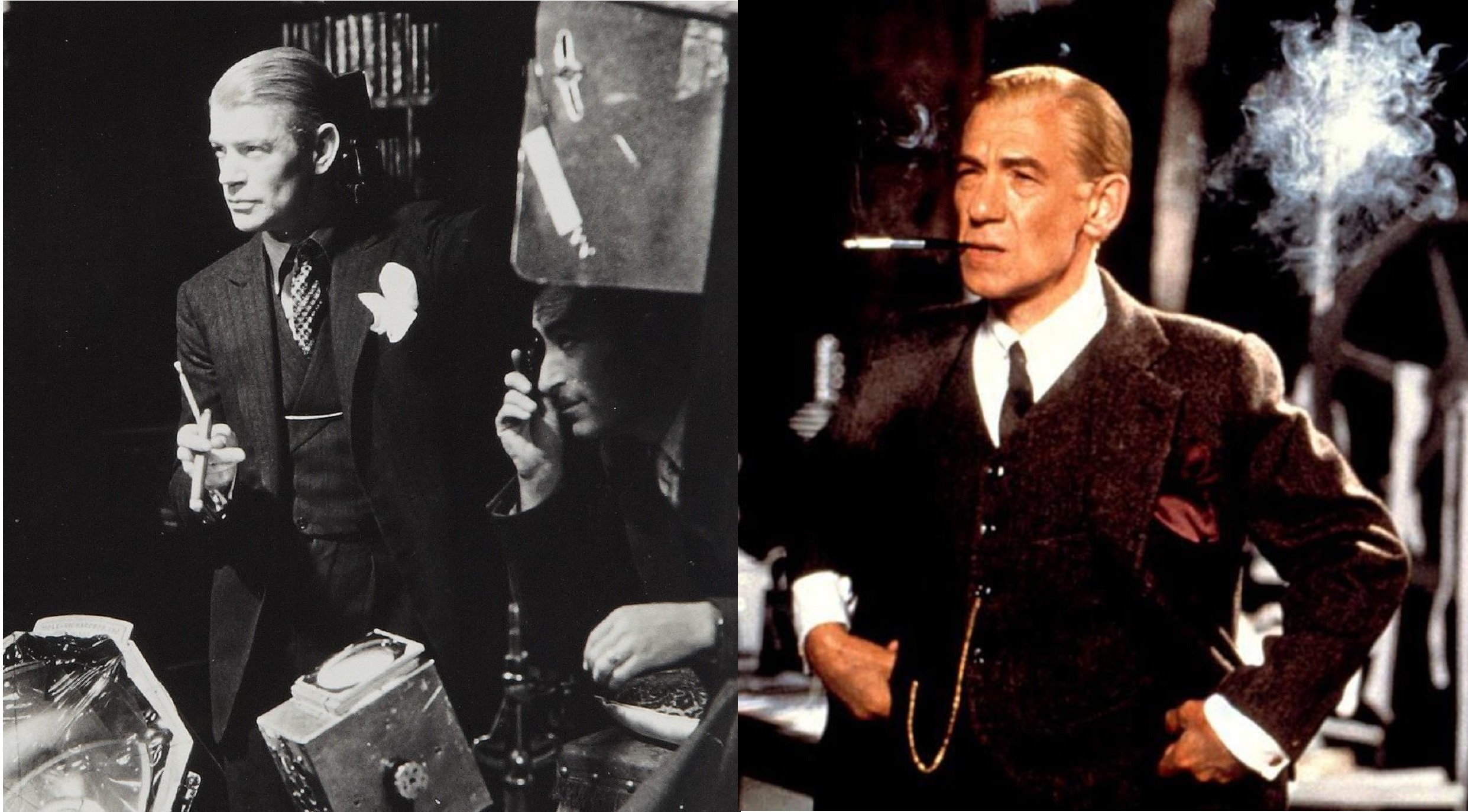 James Whale vs Ian McKellen in Gods and Monsters (1998)