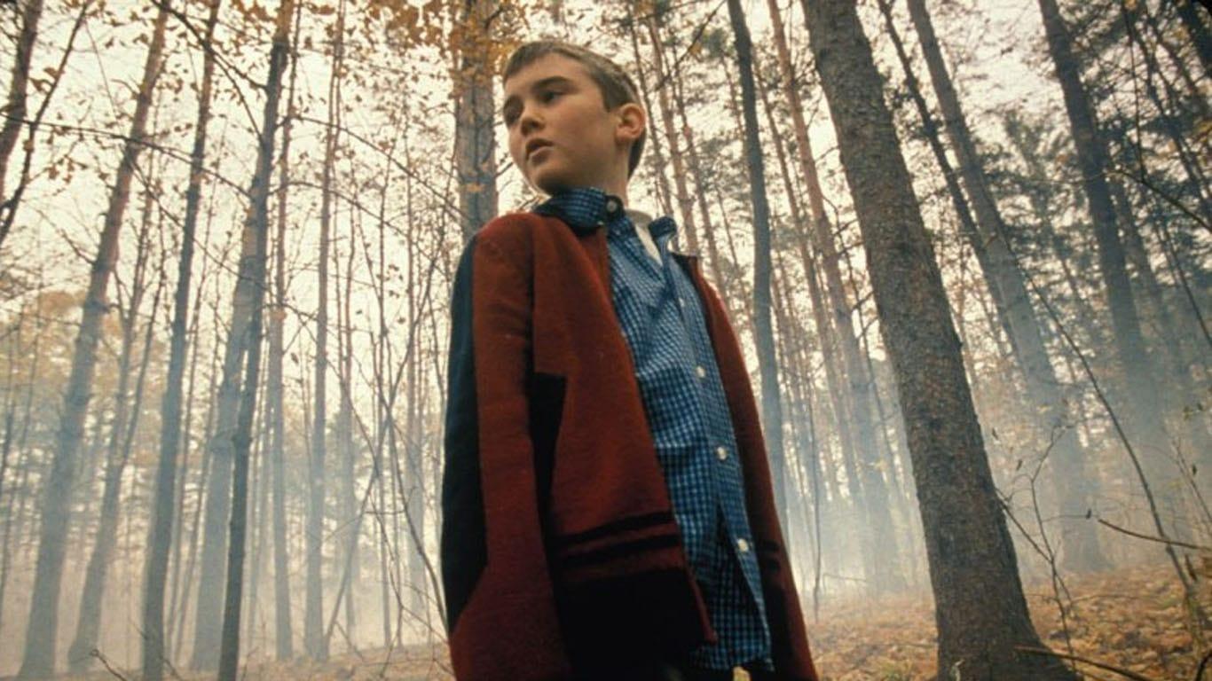 Evil clone child Cameron Bright in Godsend (2004)