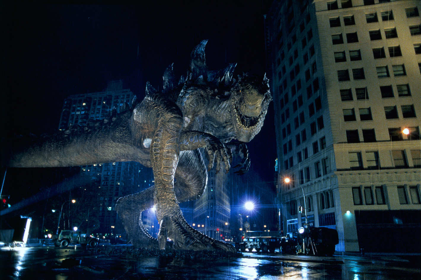 The big-budget American conception of Godzilla in Godzilla (1998)
