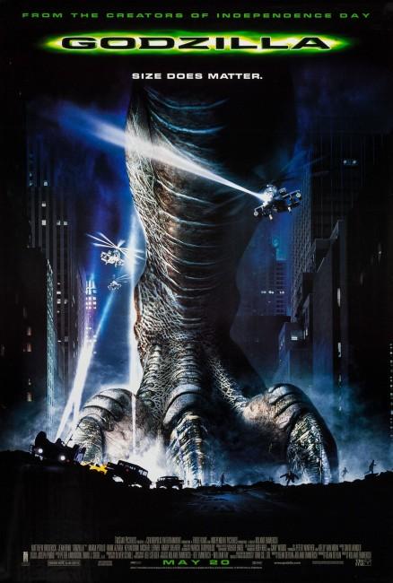 Godzilla (1998) poster