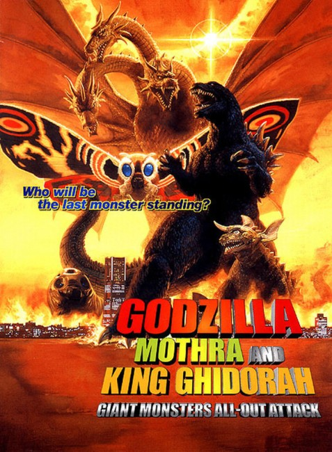 Godzilla Mothra and King Ghidorah: Giant Monsters All-Out Attack (2001) poster