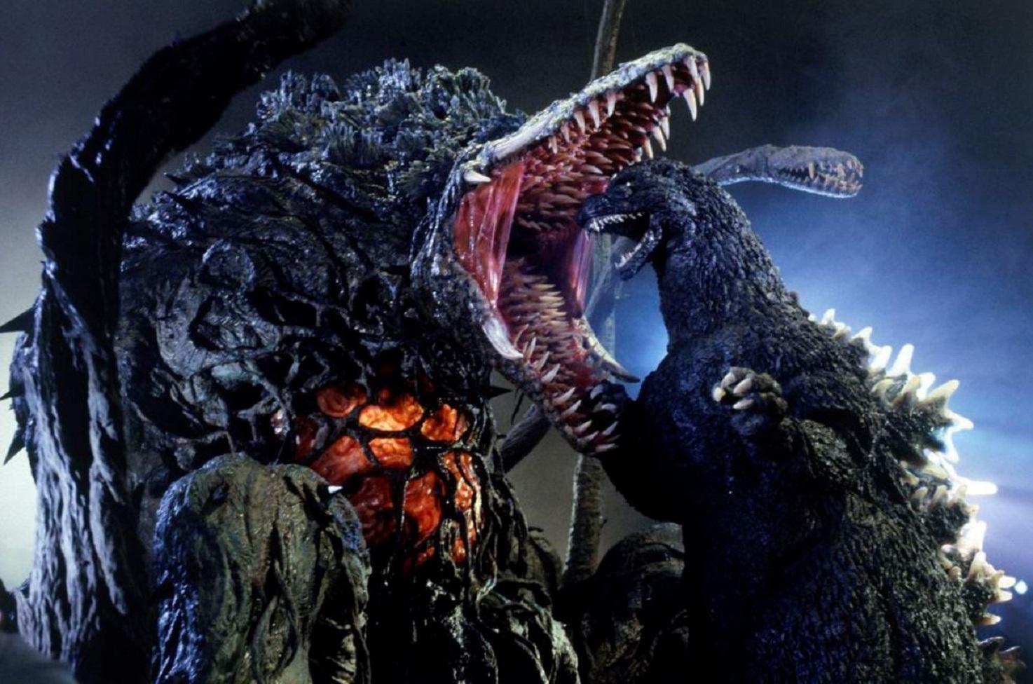 Godzilla versus Biollante in Godzilla vs. Biollante (1989)