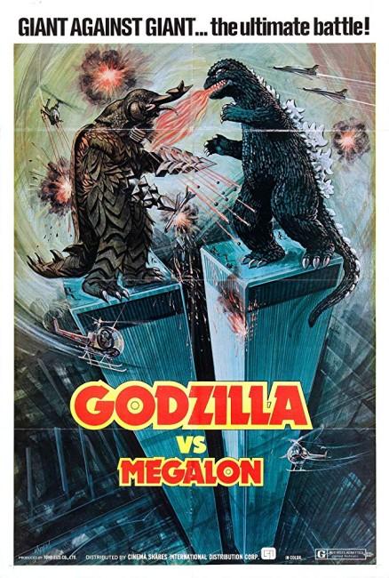 Godzilla vs Megalon (1973) poster