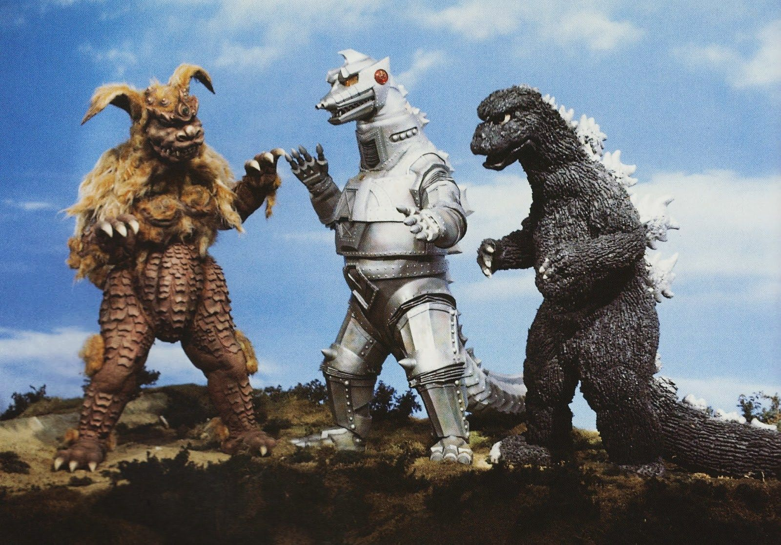 King Seesar, Mecha-Godzilla, Godzilla in Godzilla vs the Cosmic Monster (1974)