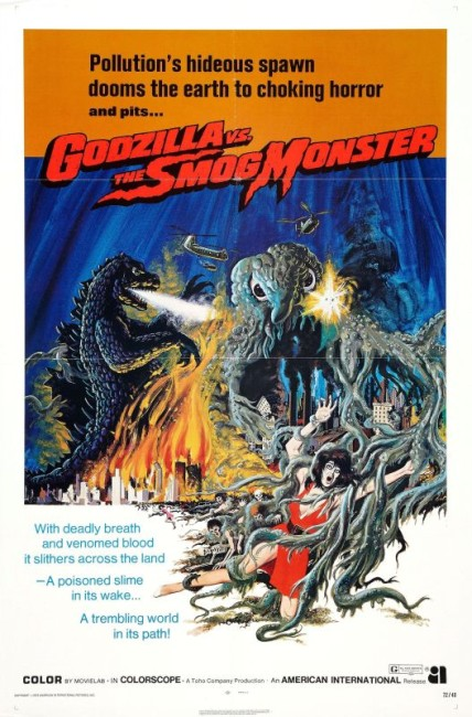 Godzilla vs the Smog Monster (1971) poster