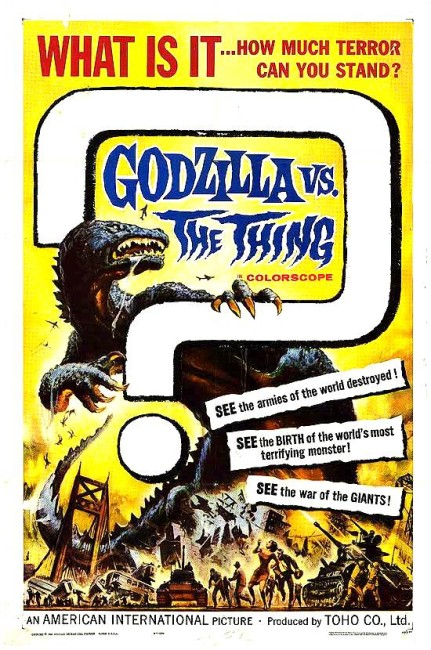 Godzilla vs the Thing (1964) poster