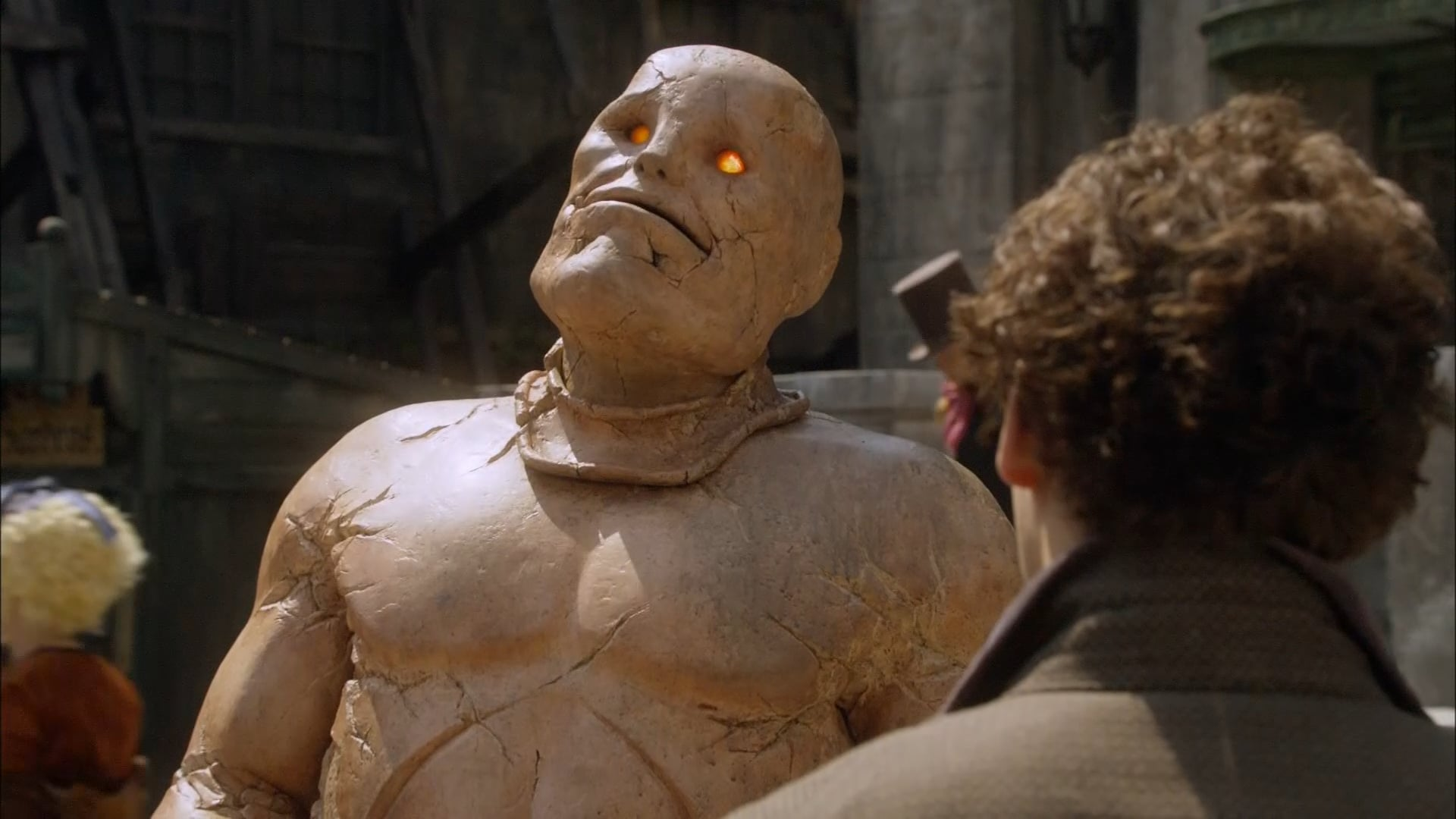 One of the golems in Going Postal (2010)