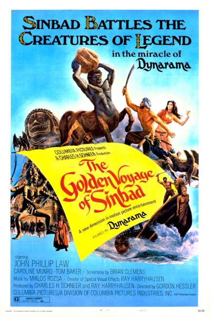 The Golden Voyage of Sinbad (1973) poster