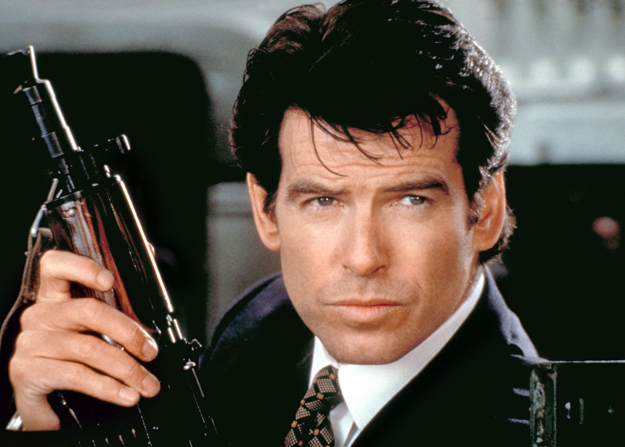 Pierce Brosnan as James Bond in Goldeneye (1995)