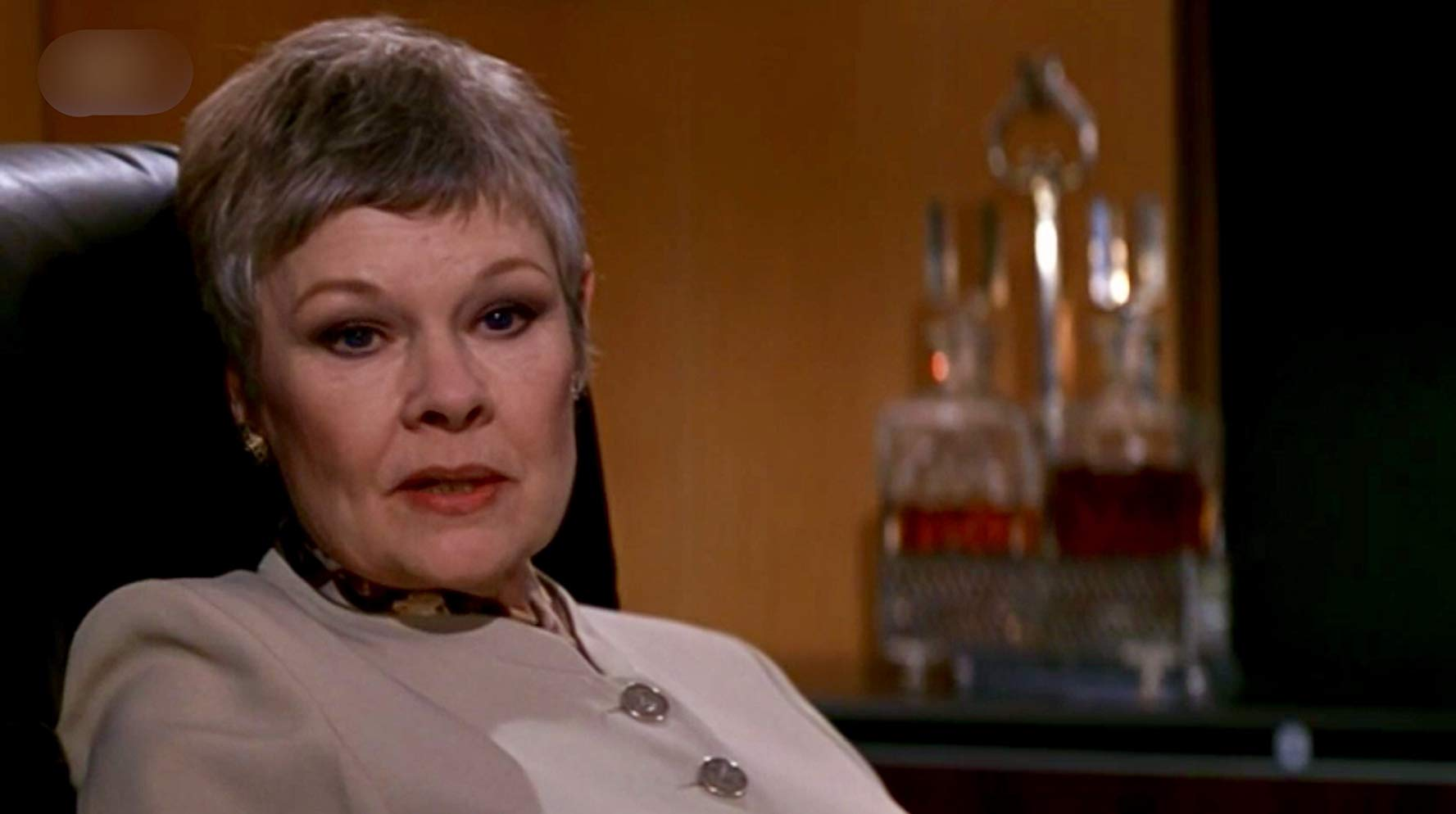 Judi Dench as M in Goldeneye (1995)