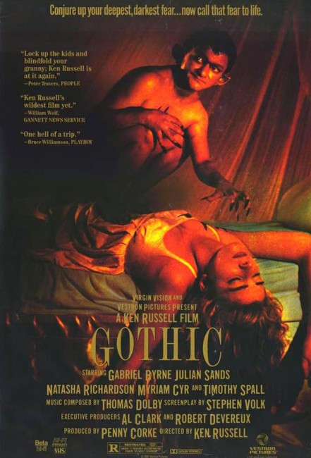 Gothic (1986) poster