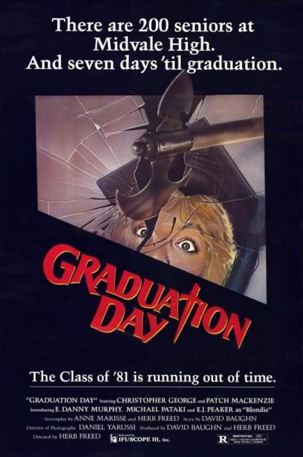 Graduation Day (1981) poster