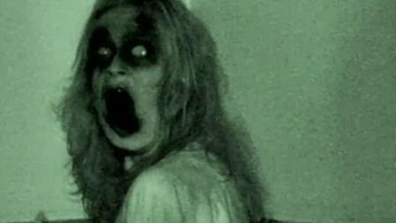 Ghostly apparitions in Grave Encounters (2011)
