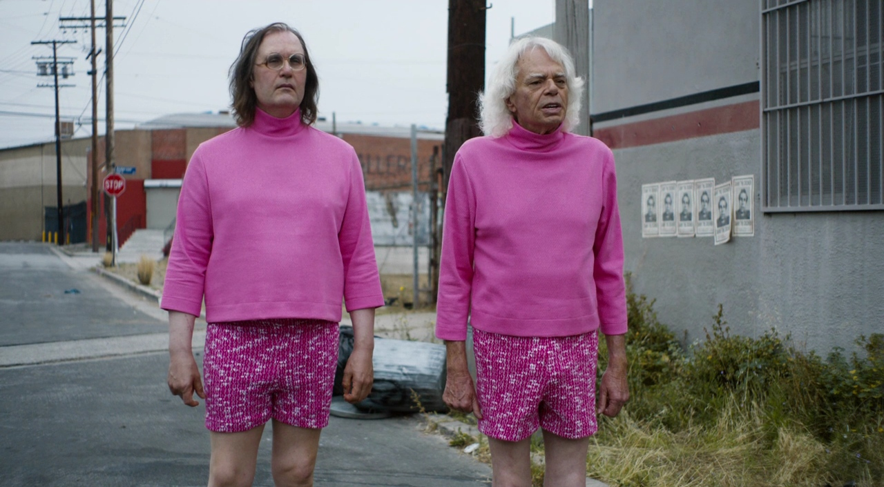 Sky Elobar and Michael St Michaels in The Greasy Strangler (2016)