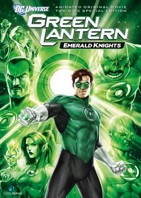 Green Lantern Emerald Knights (2011) poster