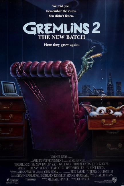 Gremlins 2: The New Batch (1990) poster