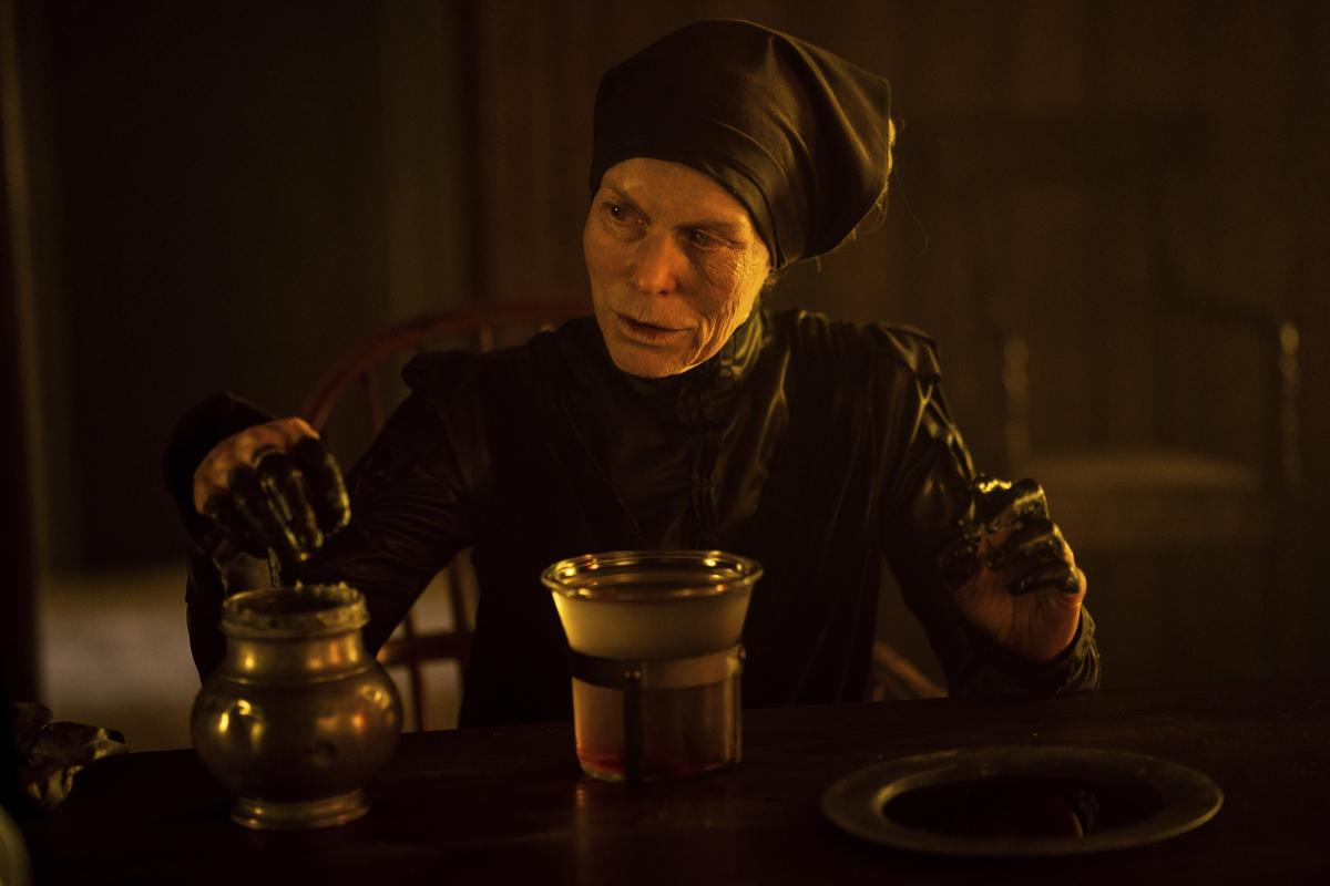 Alice Krige as The Witch in Gretel and Hansel (2020)