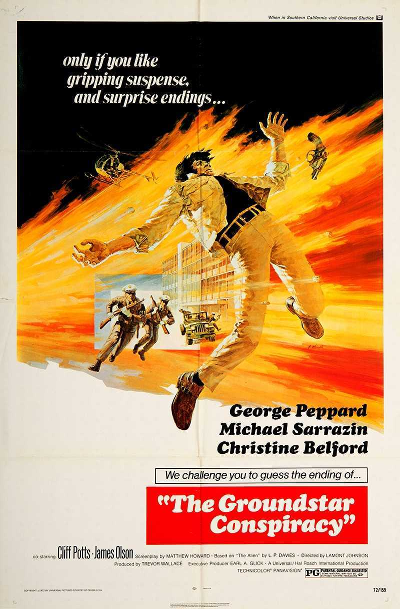 The Groundstar Conspiracy (1972) poster