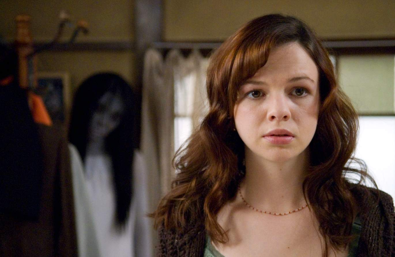 Karen's younger sister Audrey (Amber Tamblyn) is affected by the curse of Kayako too in The Grudge 2 (2006)