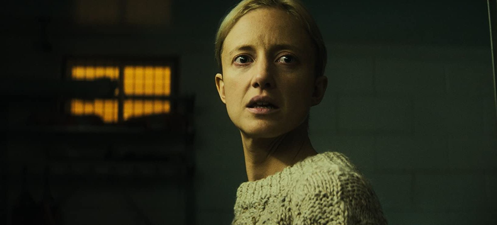 Detective Andrea Riseborough in The Grudge (2020)