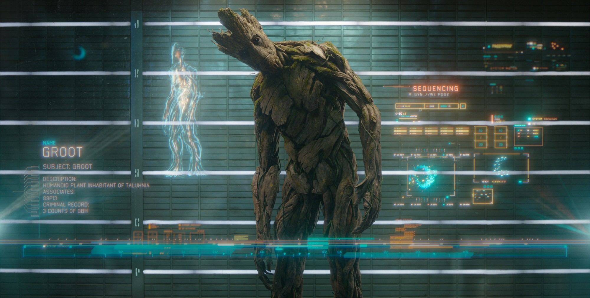 Groot in Guardians of the Galaxy (2014)