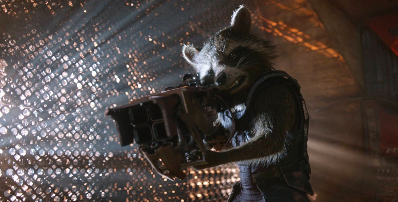 Rocket Racoon in Guardians of the Galaxy (2014)