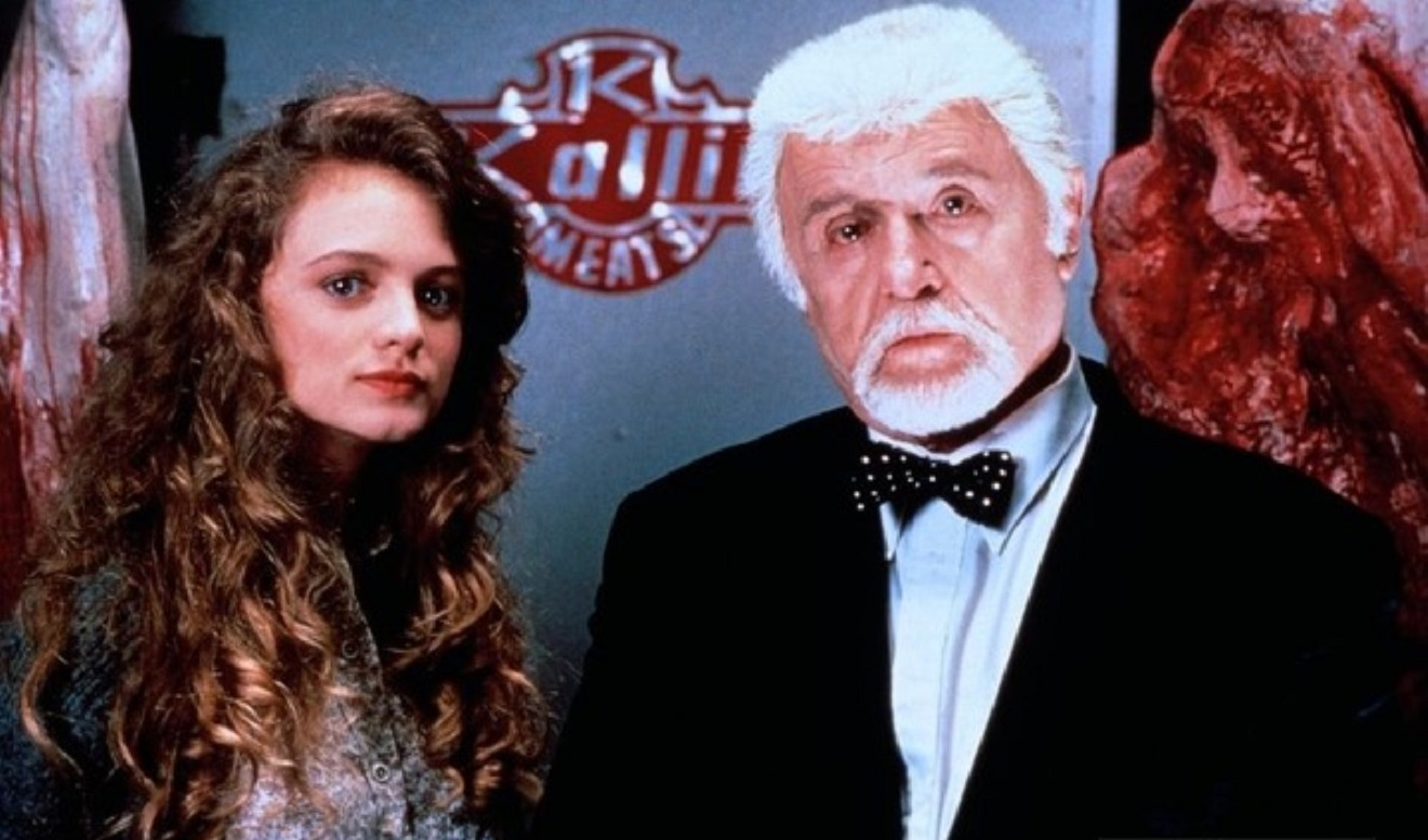 Heather Graham, Rod Steiger in Guilty as Charged (1991)