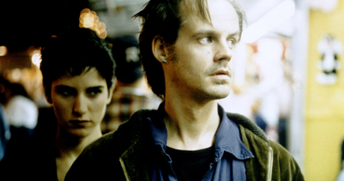 Meredith Snaider and Larry Fessenden in Habit (1997)
