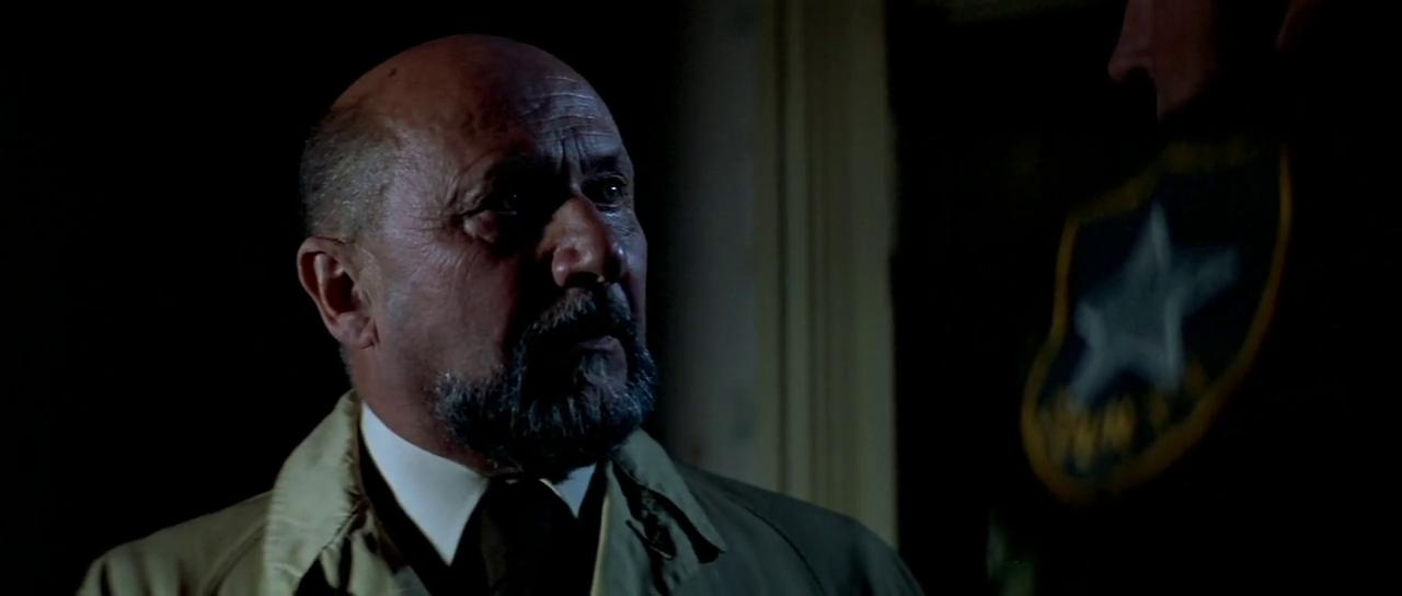 Donald Pleasence as Dr Sam Loomis in Halloween (1978)