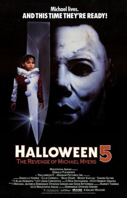Halloween 5 (1989) poster