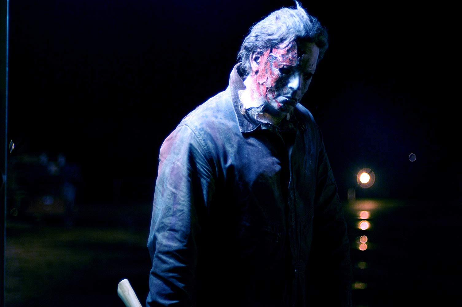 Michael Myers (Tyler Mane) back for more in Halloween II (2009)
