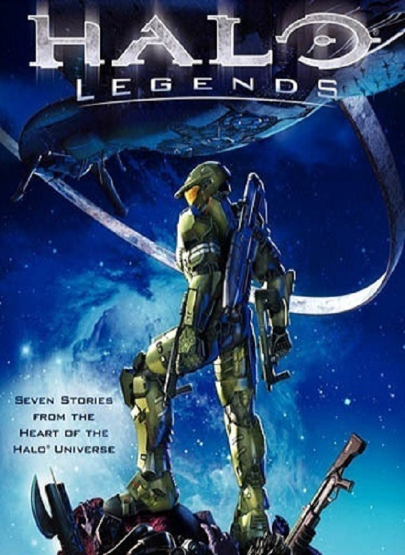 Halo Legends (2010) poster