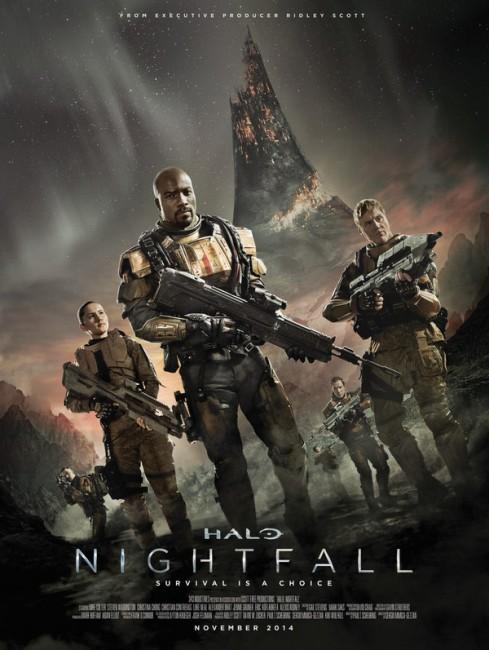 Halo Nightfall (2014) poster