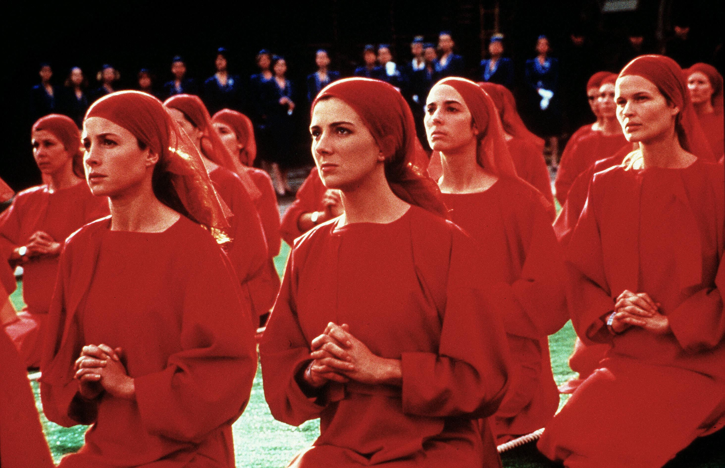 The Handmaids with Natasha Richardson in The Handmaid's Tale (1990)