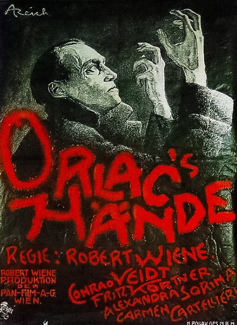 The Hands of Orlac (1924) poster