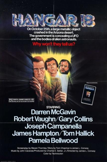 Hangar 18 (1980) poster