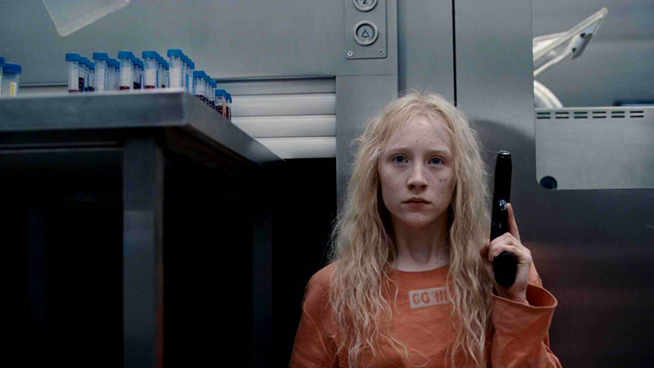 Saoirse Ronan as Hanna, a genetically engineered teenage assassin in Hanna (2011)