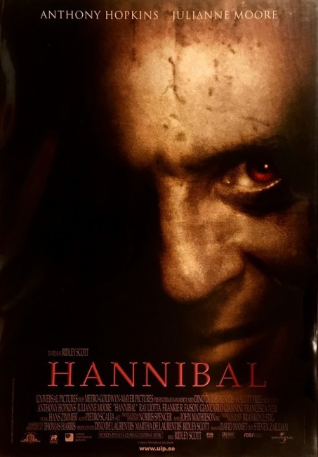 Hannibal (2001) poster