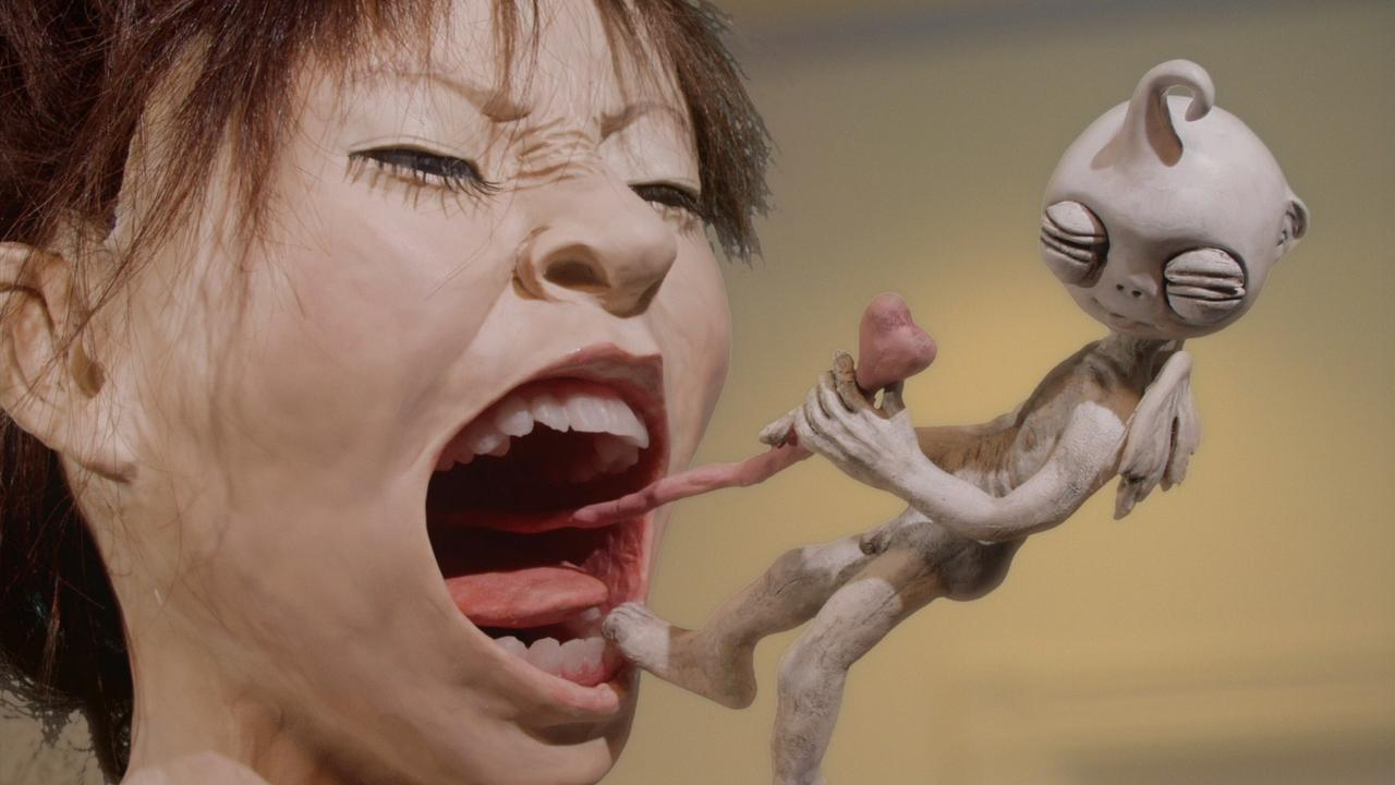 Claymation sequences from The Happiness of the Katakuris (2001)