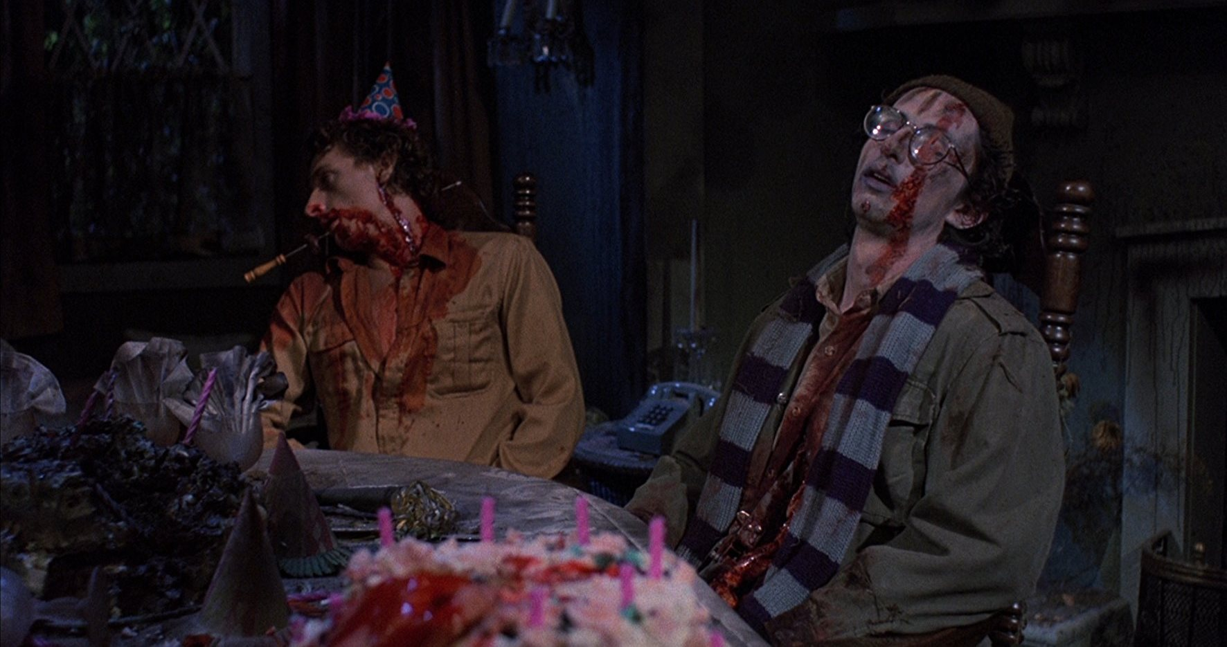The birthday party in Happy Birthday to Me (1981)