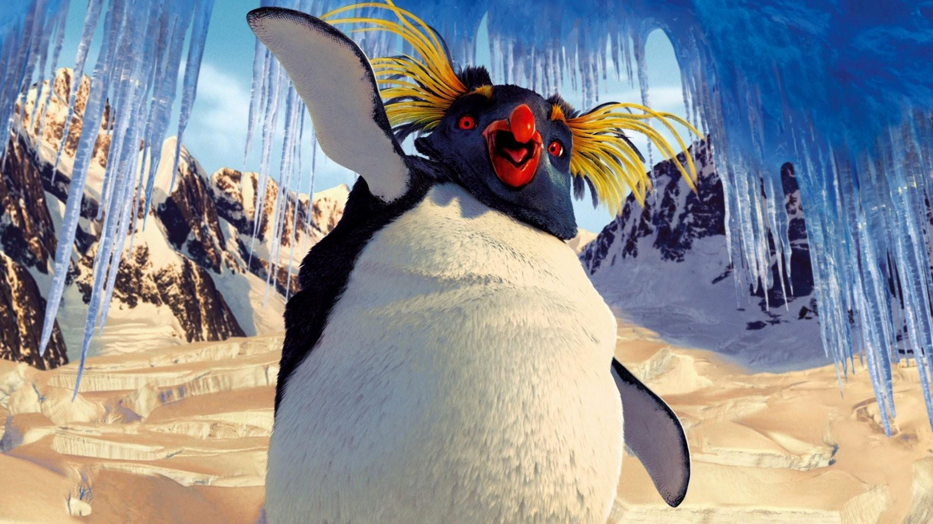 Lovelace (voiced by Robin Williams) in Happy Feet (2006)