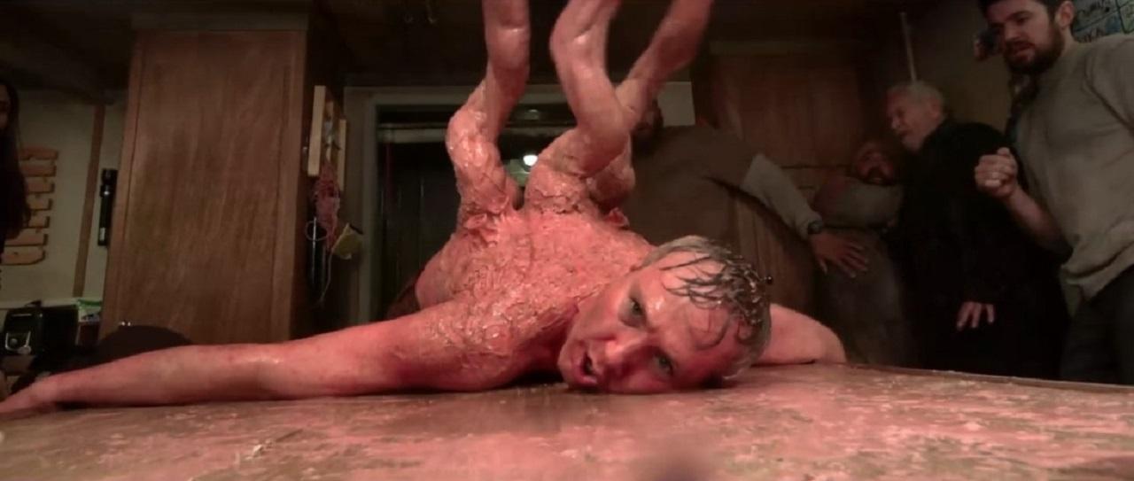 Phantasmagoric creature effects in Harbinger Down (2015)