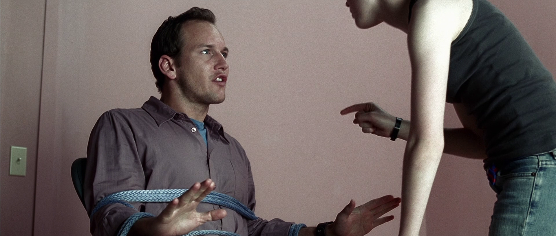 Ellen Page turns the tables on Patrick Wilson in Hard Candy (2005)