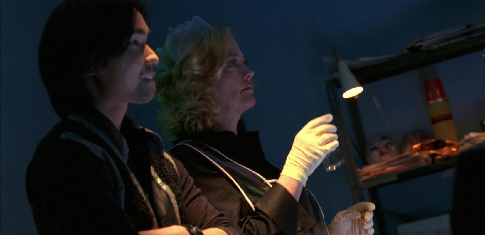 James Liao and Cybill Shepherd in Hard Luck (2006)