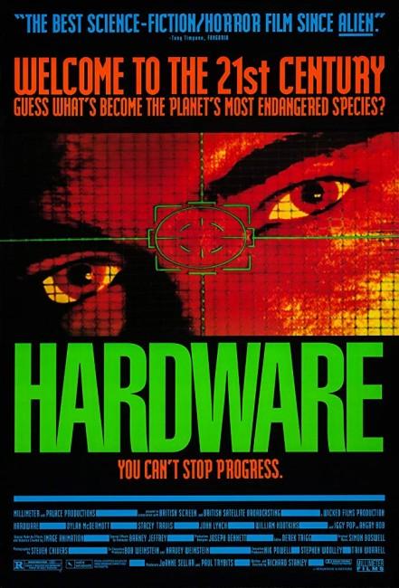 Hardware (1990) poster