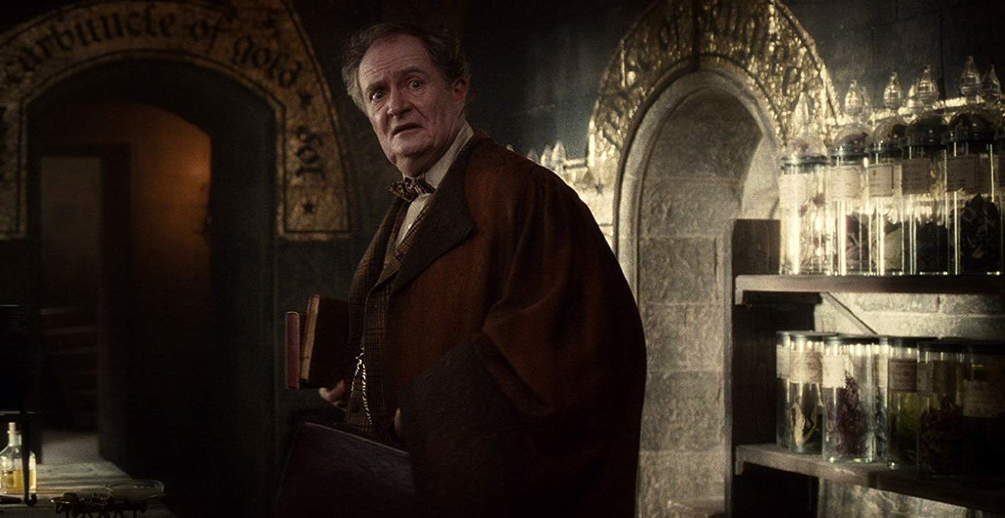 Jim Broadbent as Professor Horace Slughorn in Harry Potter and the Half-Blood Prince (2009)