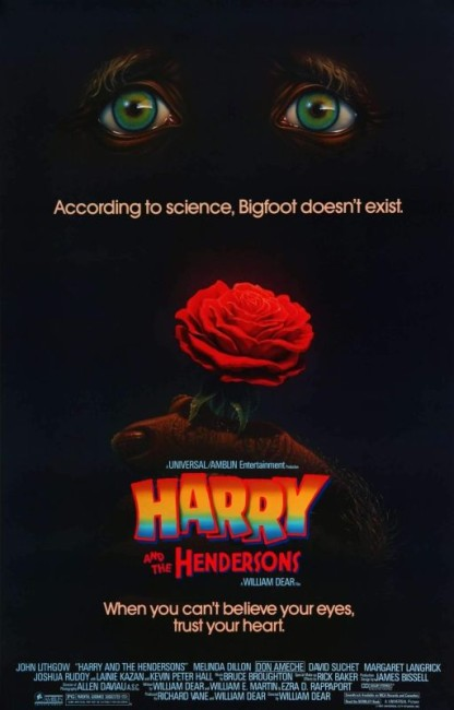 Harry and the Hendersons (1987) poster