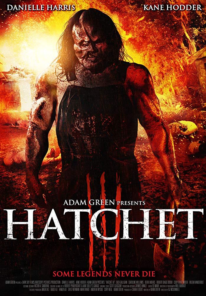 Hatchet III (2013) poster